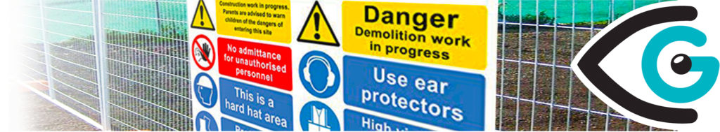 Health and Safety Signs example