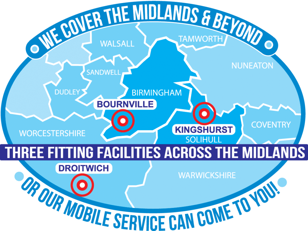 We cover the midlands and beyond